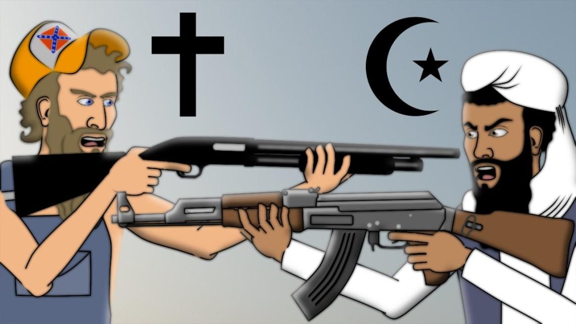 christian-against-muslim